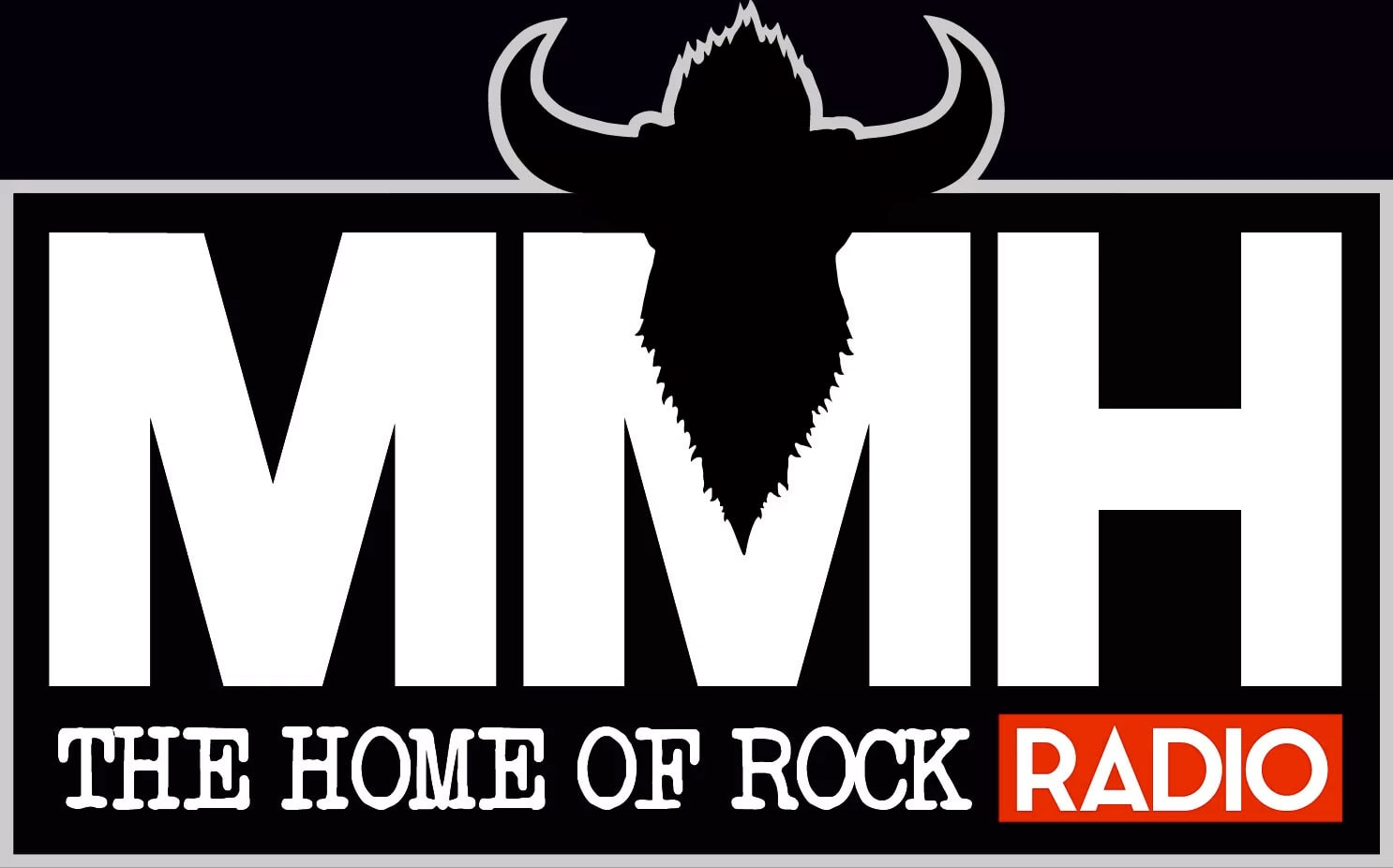 MMH The Home Of Rock Radio logo