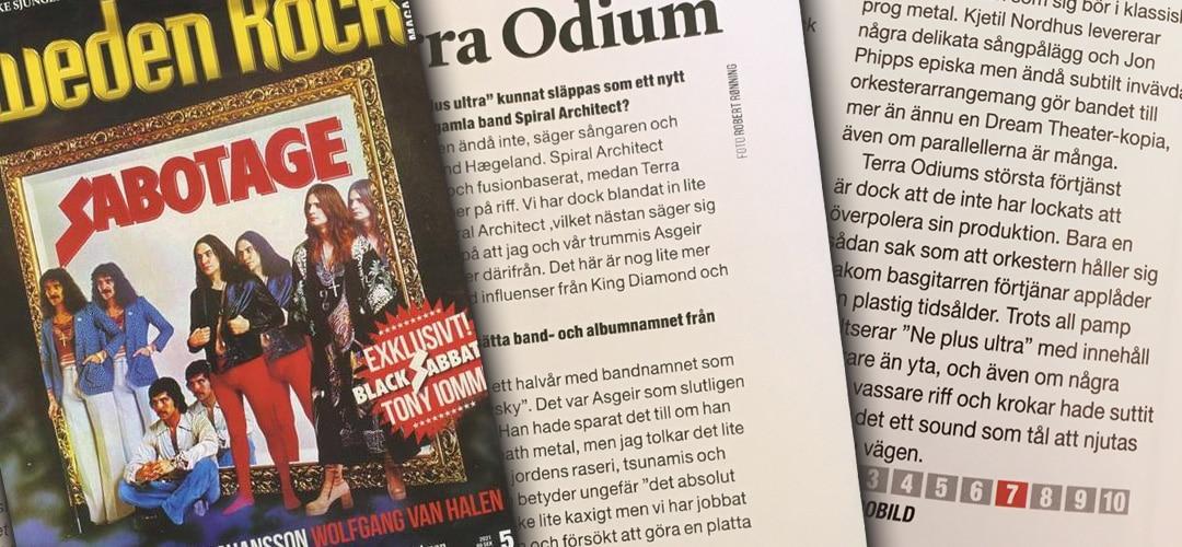 Terra Odium, Sweden-Rock Magazine review
