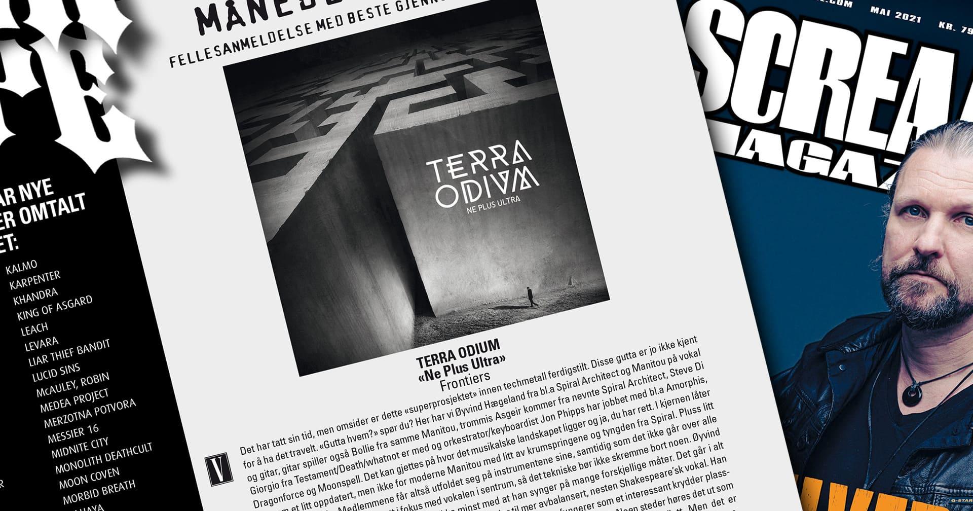 "Terra Odium ""Ne Plus Ultra"" reviews"