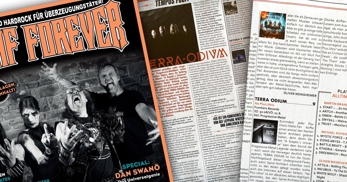 Deaf Forever, review, interview