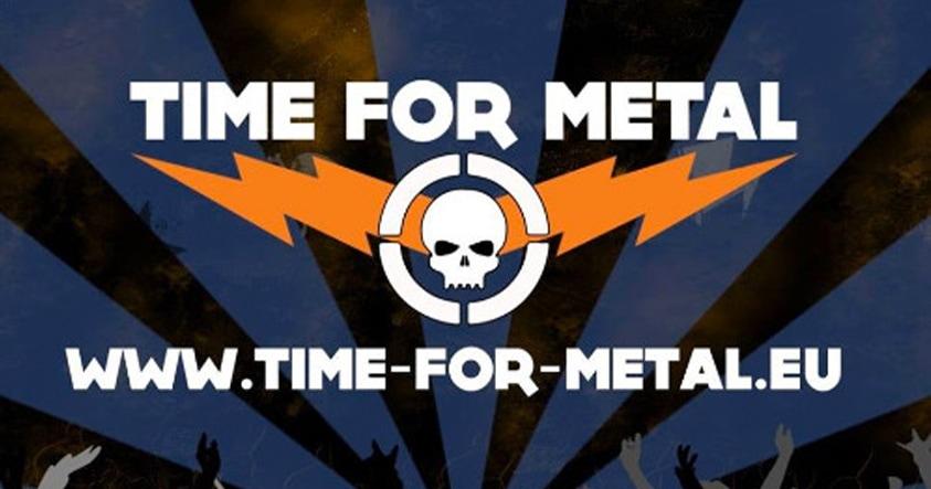 Time for Metal logo